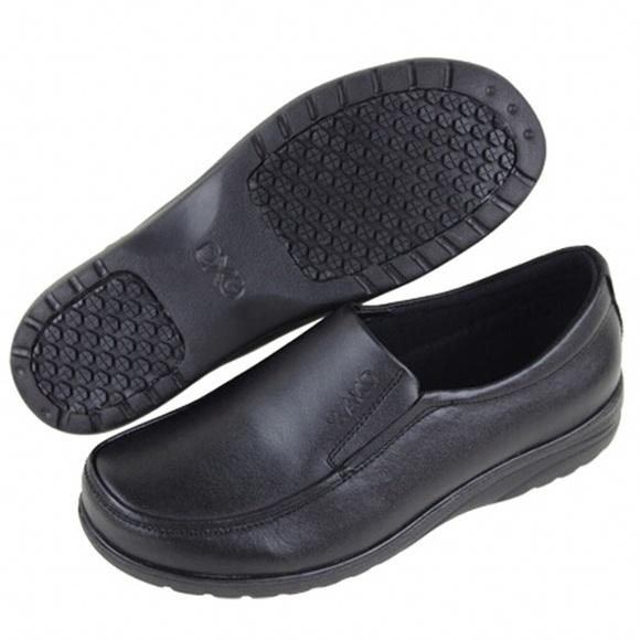 Womens Non Slip Work Dress Shoes Black